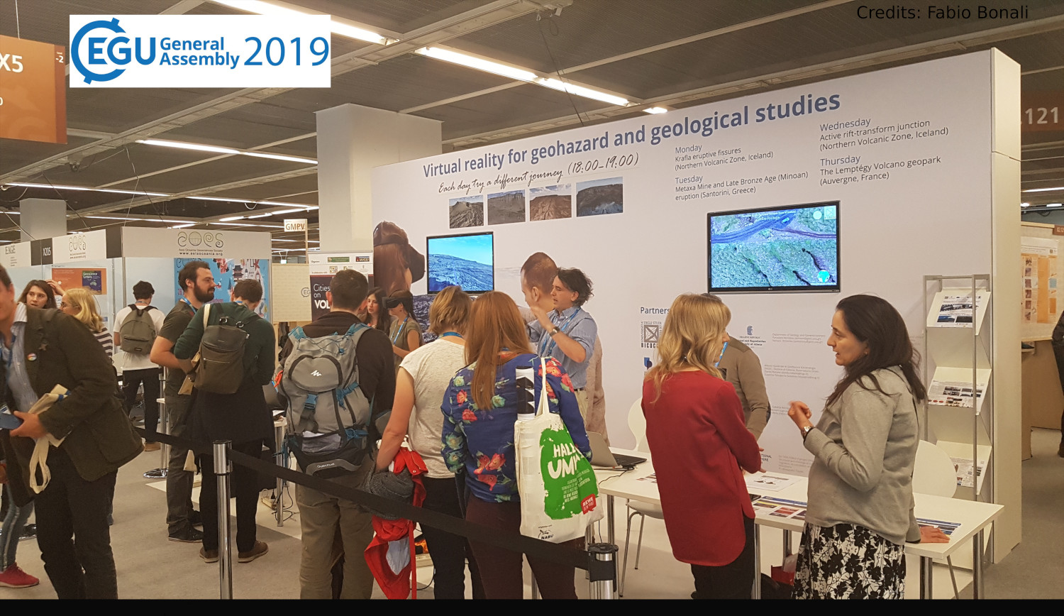 3DTELC at EGU 2019